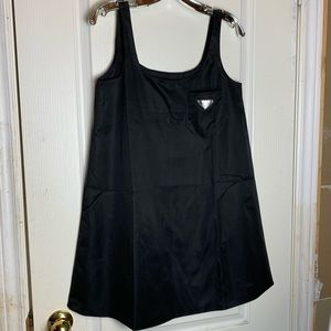 Dresses & Skirts - Black Nylon Mini Dress